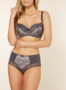 2 Pack Lucia Lace Padded Balcony Bras