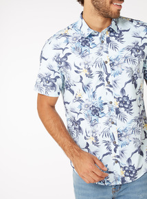 Floral Print Relaxed Fit Shirt