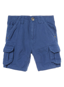Blue Cargo Shorts (3-12 years)