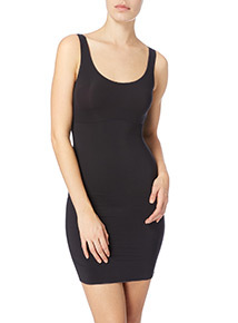 Black Silhouette Smoothing Dress Slip
