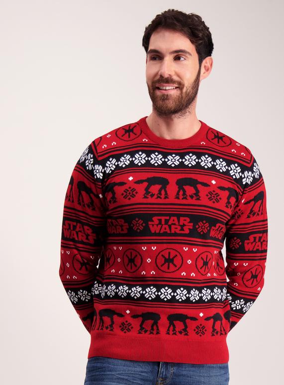 b4d061bb0017f License & Character Shop Star Wars Fairisle Christmas Jumper | Tu ...