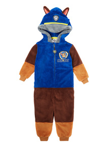 Blue Paw Patrol Fleece All In One (9 months - 5 years)