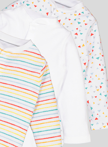 Multicoloured Sleepsuits 3 Pack (Tiny Baby-24 months)