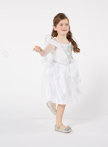 Silver Christmas Fairy Costume (1-10 years)