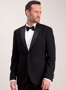 Online Exclusive Black Slim Fit Dinner Jacket