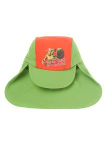 Multicoloured Turtles Keppie Hat (1 - 6 years)