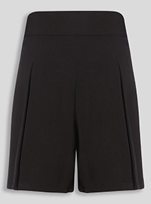 Black Culotte Shorts (3-16 years)