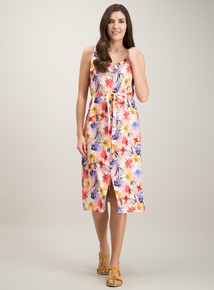 53d19748970 Online Exclusive Pink Floral Print Cami Dress