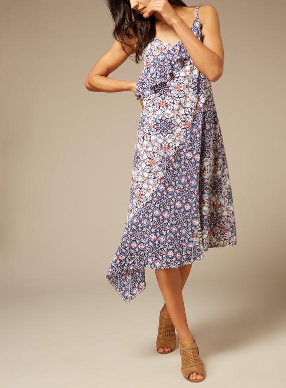 Premium Persia Printed Dress