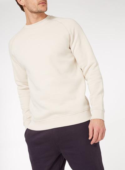 Stone Crew Neck Sweatshirt
