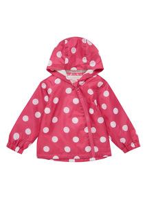 Pink Spot Jacket (0 - 24 months)
