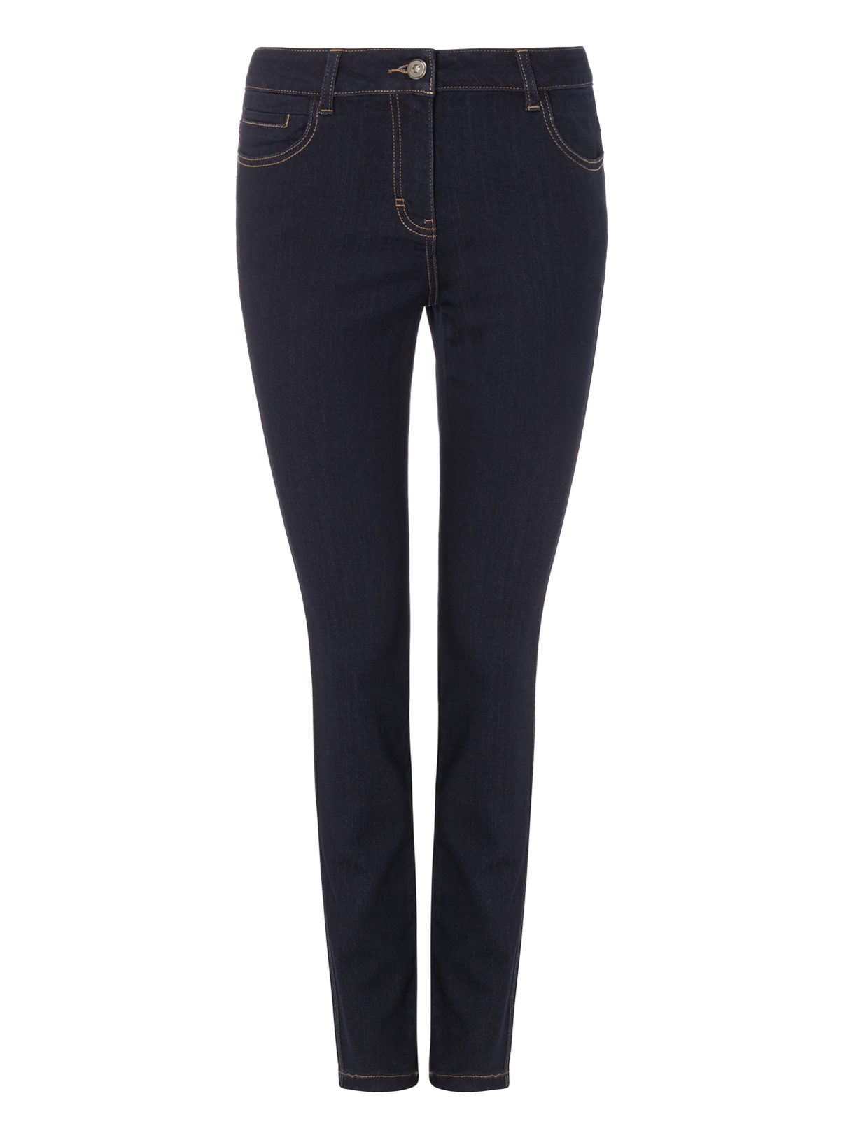 Womens Navy Dark Wash Skinny Jeans | Tu clothing