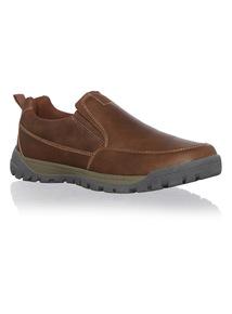 PU Slip-On Shoes