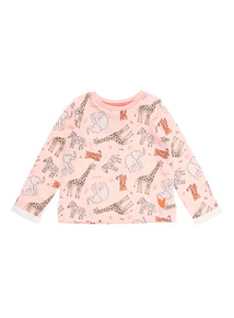 Girls Pink Nomad Sweat (9 months-6 years)