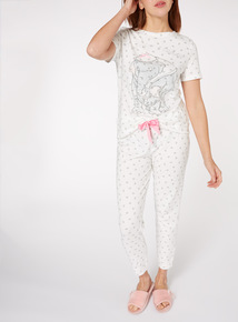Cream Disney Dumbo Pyjama Set