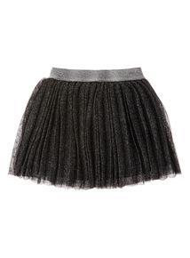 Black Pleated Skirt (3-14 years)