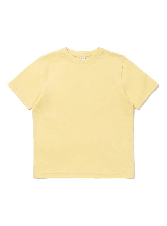 8249a1298 Kids Yellow crew neck T-Shirt (3-12 years) | Tu clothing