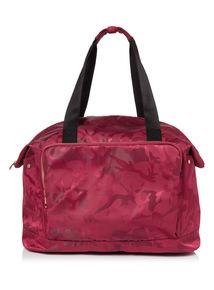 Pink Camo Large Sports Bag