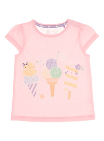 Pink Sweet As Can Be Tee (0 - 24 months)