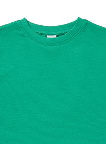 Green Crew Neck T-Shirt (3-12 years)