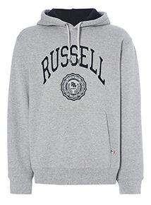 Onlie Exclusive Russell Athletic Grey Hoody