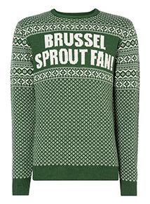 Green Brussel Sprout Fan Jumper