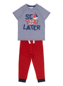 Boys Multicoloured Sea You Later Jogger Set (9 months-6 years)