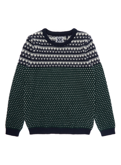All Boy's Clothing Green Fairisle Jumper (3-14 years) | Tu clothing