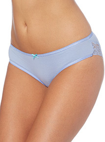 Lace Trim Brazilian Briefs 5 Pack