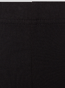 Girls Black Cycle Shorts 2 Pack (3-12 years)