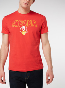 Spain Football Tee