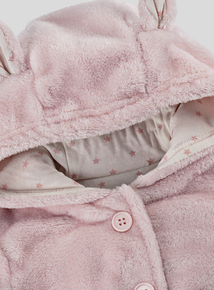 Pink Faux Fur Jacket (0-24 months)