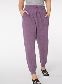 Purple Patch Pocket Joggers