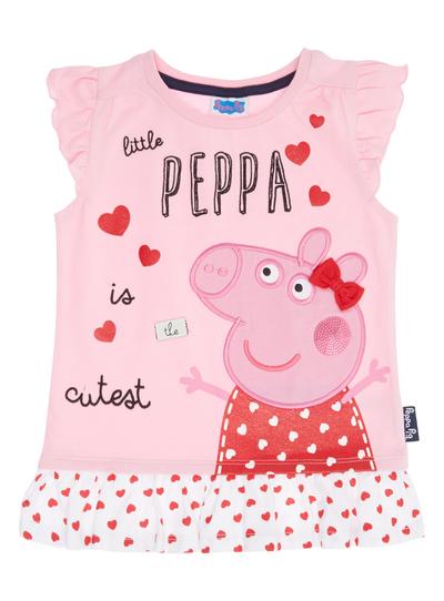 21e9a73f7 Kids Girls Pink Peppa Pig T-Shirt (9 months-5 years) | Tu clothing