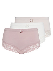 3 Pack Mid Rise Short
