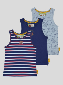The Gruffalo Multicoloured Vests 3 Pack (1.5 - 6 Years)