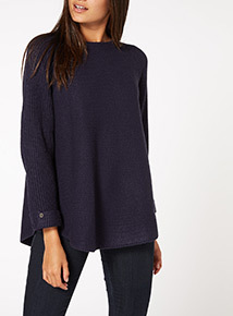 Turn Back Cuff Jumper