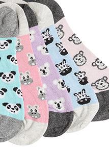 5 Pack Novelty Supersoft Socks