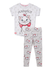 Multicoloured Disney Aristocats Marie Pyjamas (2-10 years)