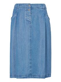 Tencel A Line Skirt