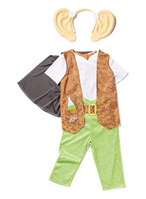Green and Brown BFG Costume (3-10 years)