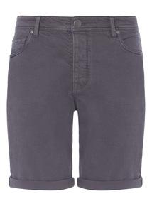 Denim Dark Wash Shorts