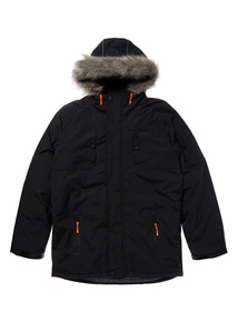 Black Performance Coat (3-12 years)