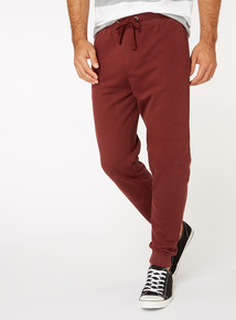 Oxblood Joggers