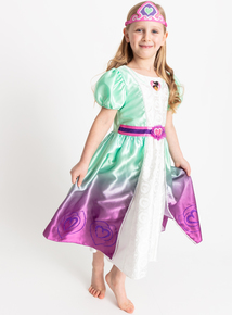 Nella The Princess Knight Green Costume (1-8 years)