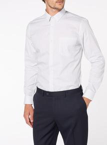 Grey Slim Fit 2 Pack Shirts