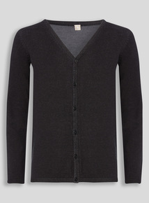 Black V-Neck Cardigan (10 - 16 years)