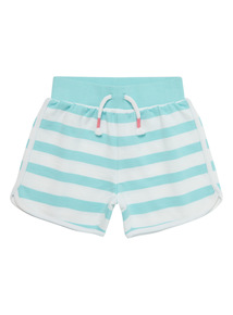 Green Striped Shorts (9 months - 6 years)