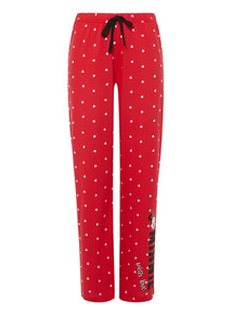 Red Disney Minnie Trousers