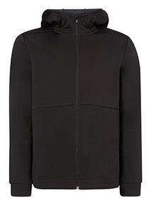 Black Admiral Fleece Zip Through Jacket